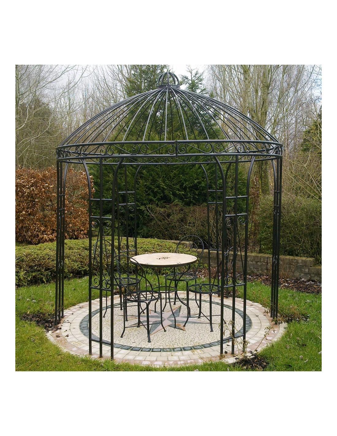 Gartenpavillon 260cm eisen albena marokko galerie for Gartenlaternen dekorieren