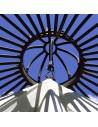 Baldachin Sonnensegel für Eisenpavillons