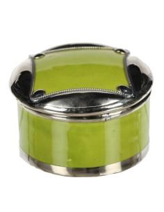 Orientalische Keramikdose Kisir grün