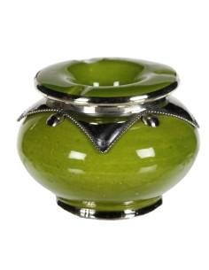 Orientalischer Aschenbecher Muzi grün