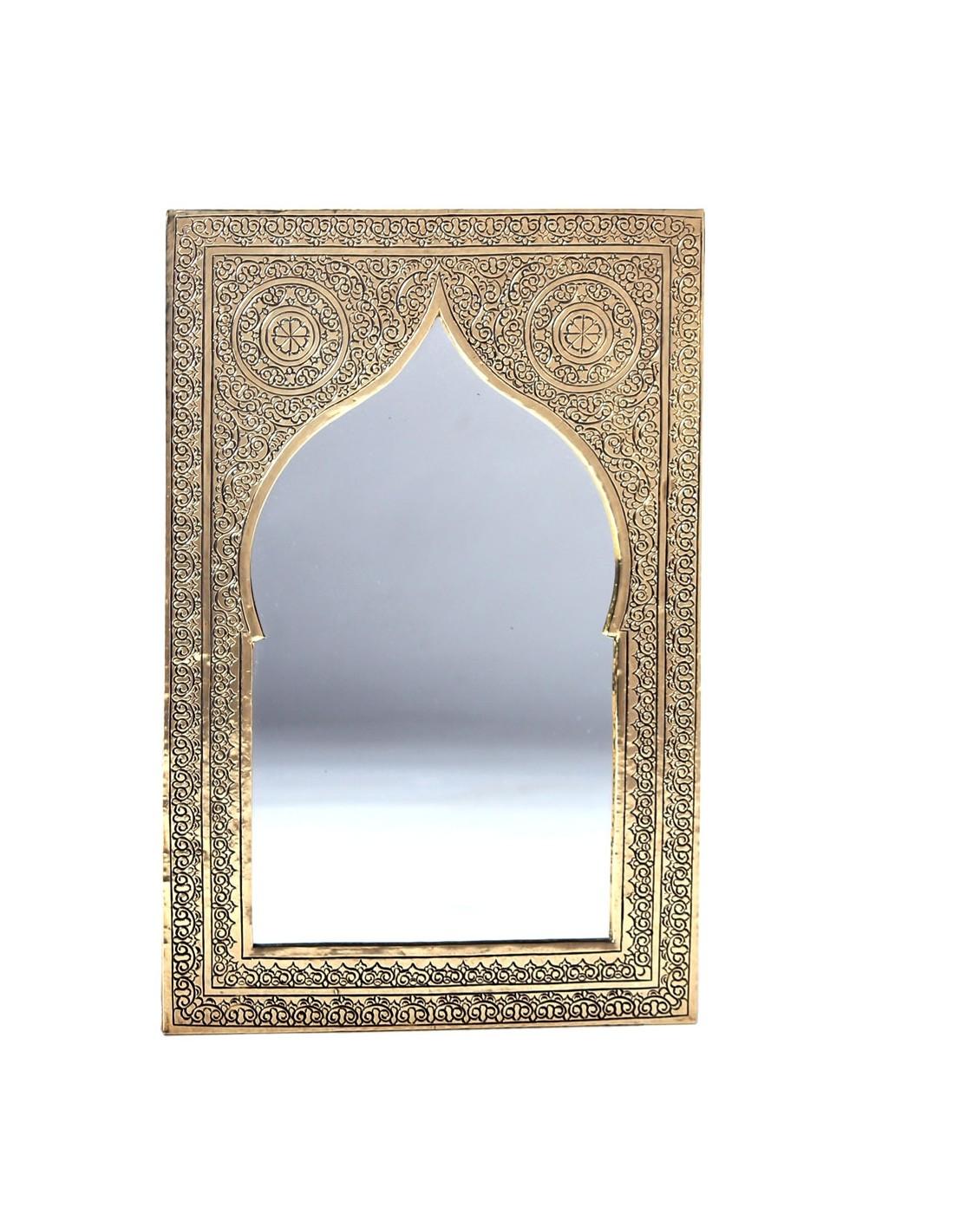 orientalische spiegel aus messing silber albena shop. Black Bedroom Furniture Sets. Home Design Ideas