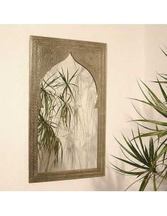 Orientalischer Silberspiegel Sath 50x80cm
