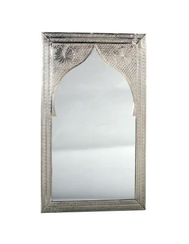 Orientalischer Silberspiegel Sath 60x100cm