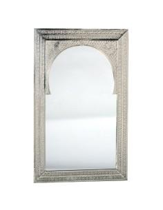 Marokkanischer Silberspiegel Mansub 50x80cm