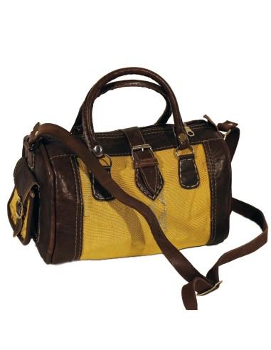 Marokkanische Tasche Sabra gelb Gr.S