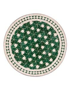 Marokkanischer Mosaiktisch Maar grün 60 cm