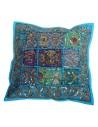 Indisches Zierkissen 40x40cm Kissenhüllen in 10 Farben