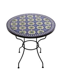 Marokkanischer Mosaiktisch Iras 80 cm