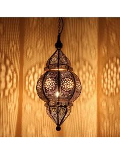 Orientlampe Kaja schwarz