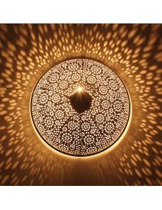 Orientlampe Wandlampe Tami schwarz