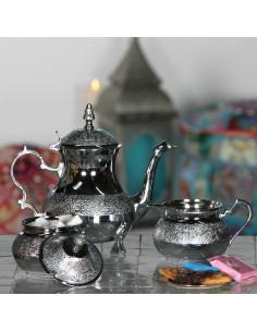 3er-Set orientalisches Teegeschirr Zahir