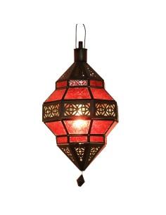 Orientalische Hängelampe Trob rot