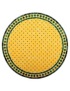 Marokkanischer Mosaiktisch Anuk 80 cm