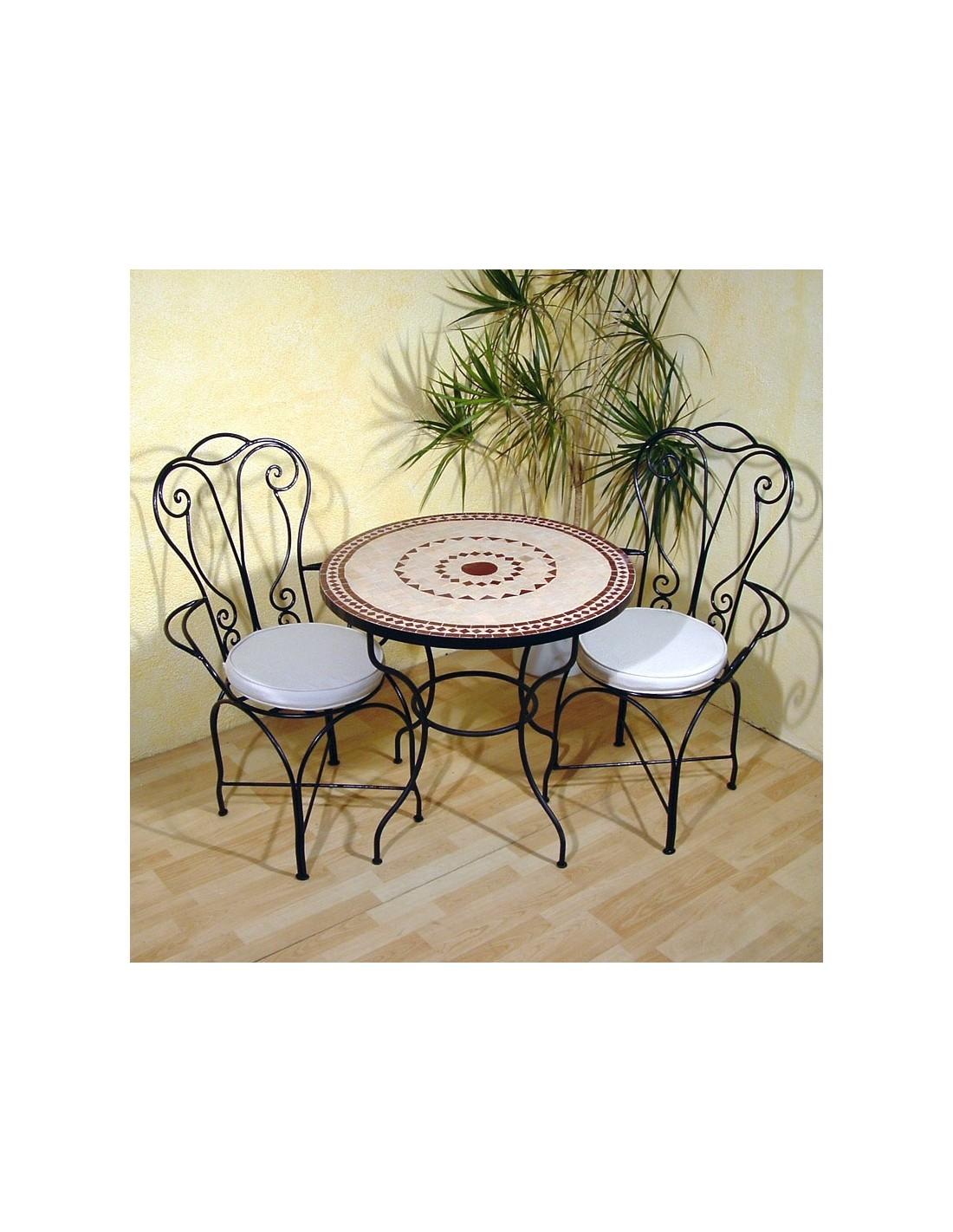 mosaiktisch ronu 80cm rund marke albena marokko galerie. Black Bedroom Furniture Sets. Home Design Ideas