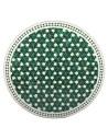Marokkanische Mosaikplatte Maar grün 100 cm