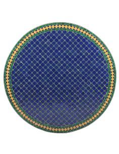 Marokkanischer Mosaiktisch Fareo 100 cm