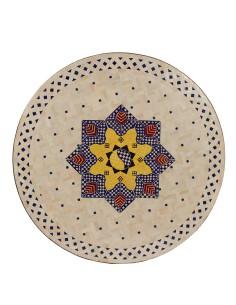 Marokkanischer Mosaiktisch Jebon 100 cm
