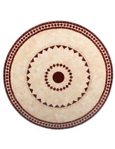 Marokkanischer Mosaiktisch Ronu 100 cm
