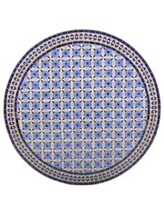 Marokkanischer Mosaiktisch Beluna 100 cm