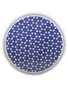 Marokkanische Mosaikplatte Maar blau 120 cm