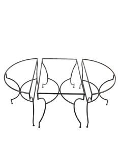 3-teilige Tischkombination Yena 120 x 200cm