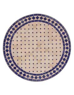 Marokkanischer Mosaiktisch Ebau 60 cm
