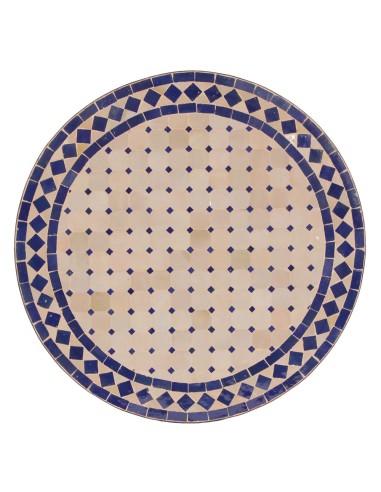 Marokkanische Mosaikplatte Ebau 60 cm