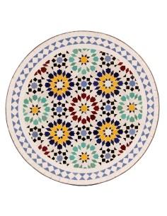 Marokkanischer Mosaiktisch Lisu 60 cm