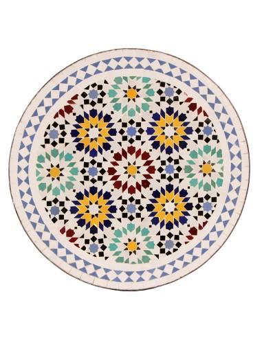Marokkanische Mosaikplatte Lisu 60 cm