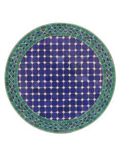 Mosaiktische 60cm rund im shop der albena marokko galerie for Marokkanischer mosaiktisch