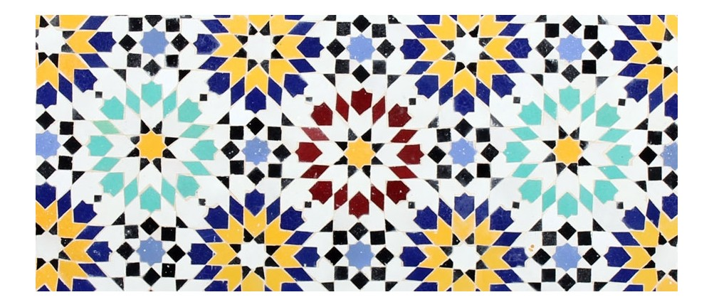 Mosaik reduziert