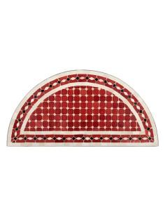 Halbrunder Mosaiktisch Renak 40x80cm