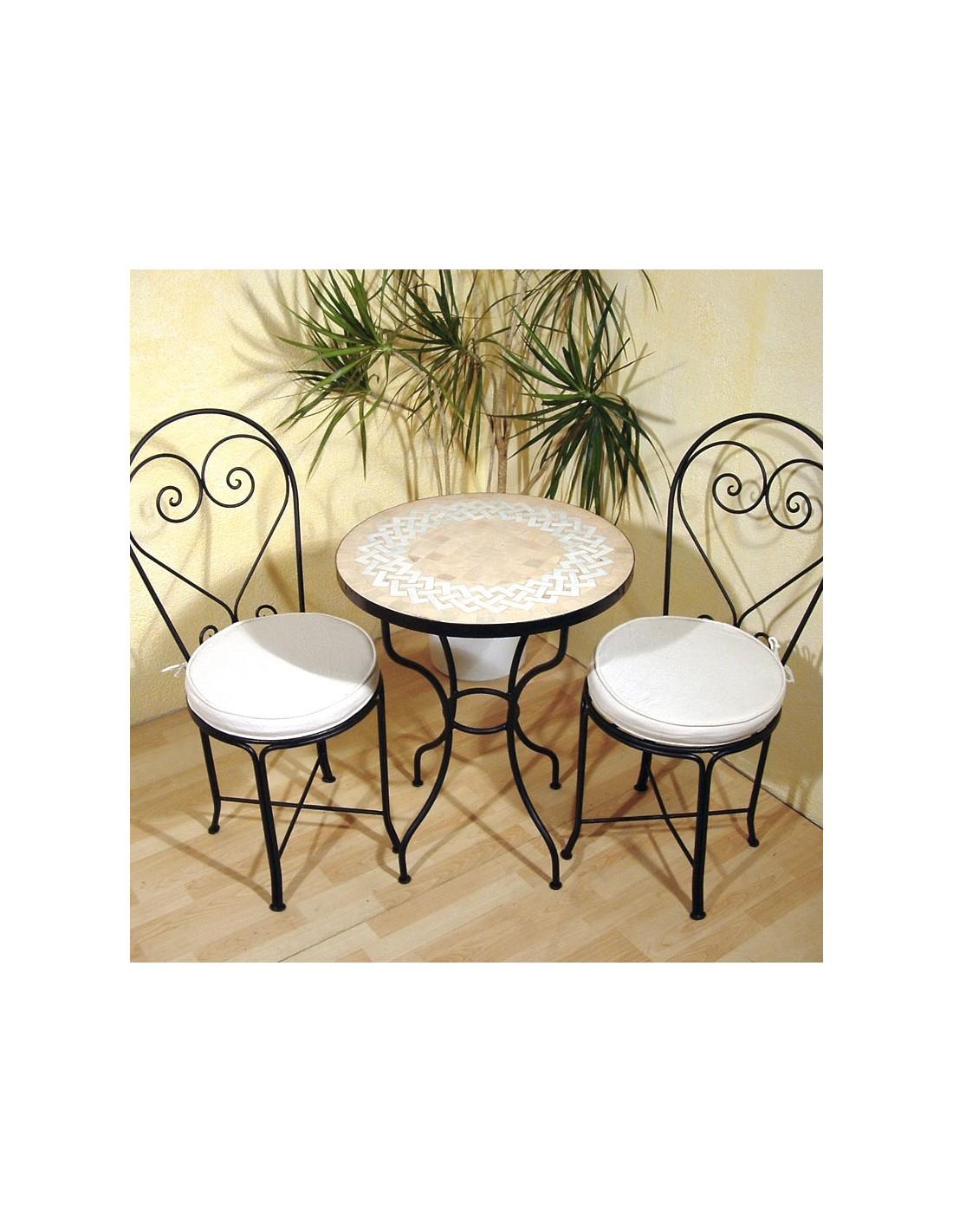 mosaiktisch latief 60cm rund bei albena marokko galerie. Black Bedroom Furniture Sets. Home Design Ideas