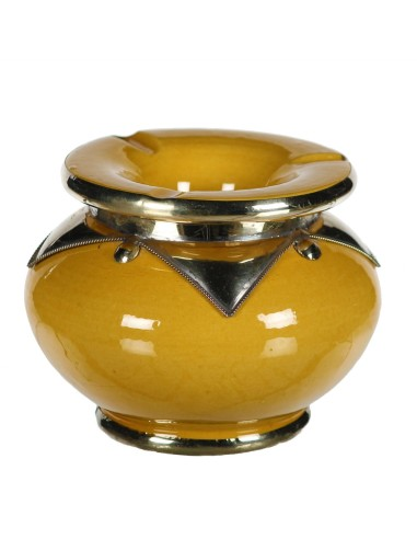 Orientalischer Sturm-Aschenbecher Zupin gelb