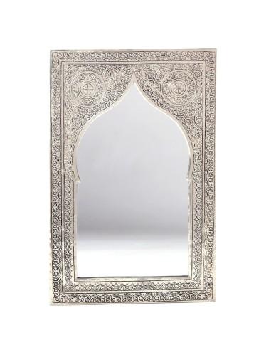 Orientalischer Silberspiegel Casi 41x27cm