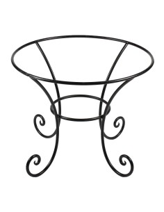 Tischgestell Schmiedeeisen ø 90cm mit verzierten Beinen