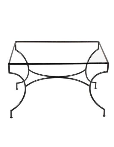 Tischgestell Schmiedeeisen 70x110cm gebogen