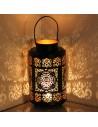 Indisches Windlicht Jasum, 30cm Motiv: Paisley