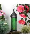 Orientalisches Windlicht Laterne Shaki grün