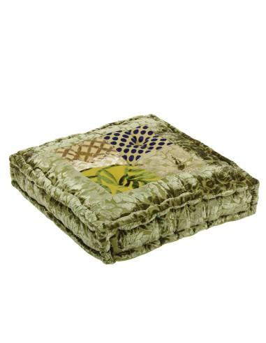 Indisches Bodenkissen Brasso 45x45x10cm
