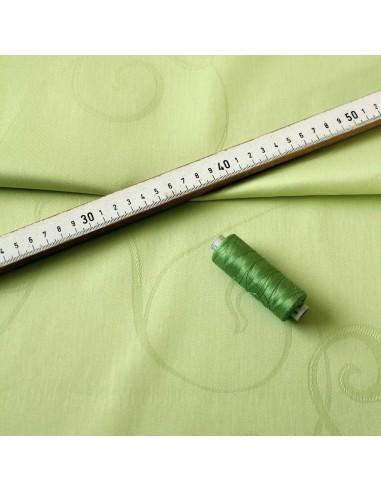 Damast 100% Baumwolle pistazie 140cm breit
