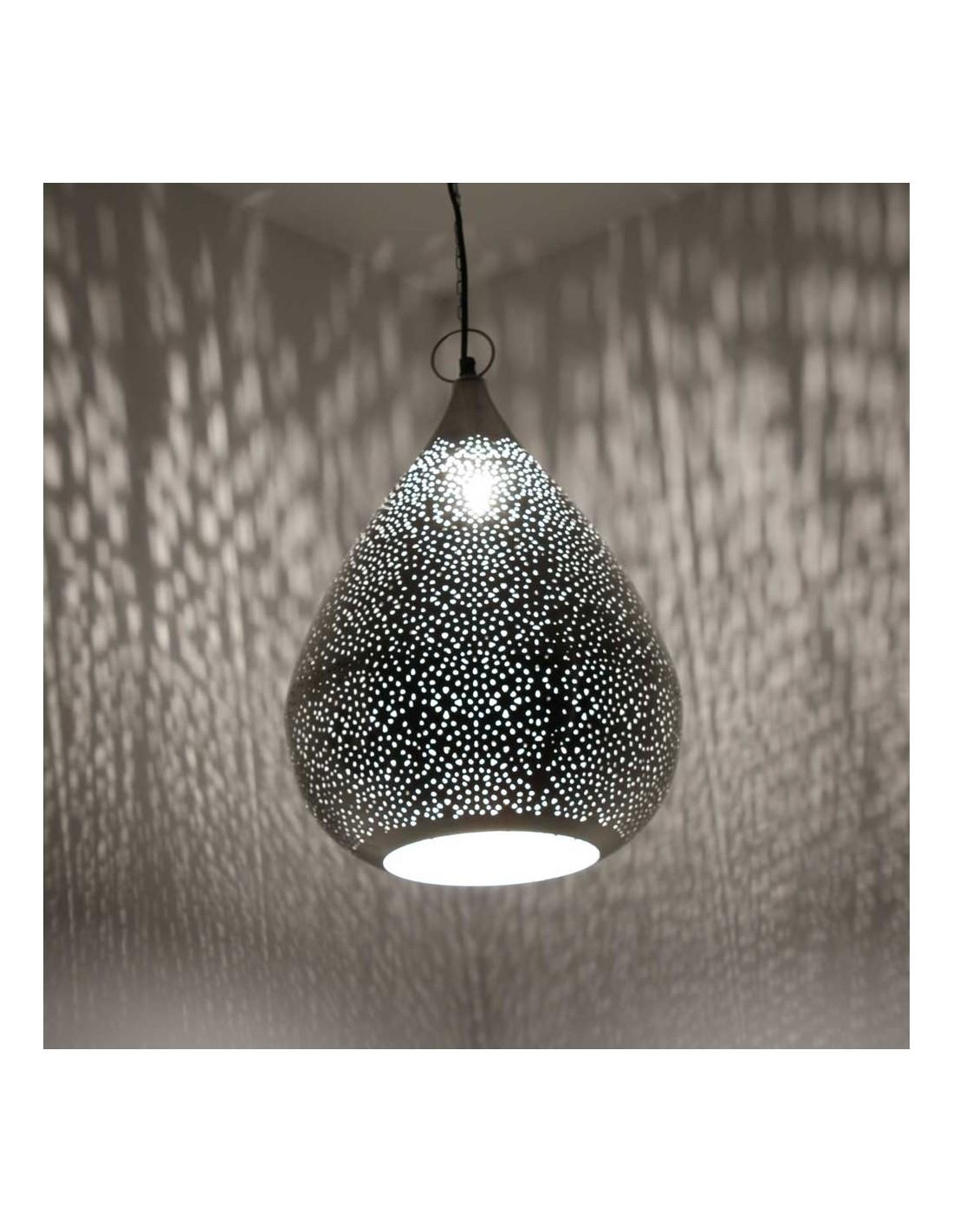 orientalische h ngelampe najia 45cm in tropfenform albena shop. Black Bedroom Furniture Sets. Home Design Ideas
