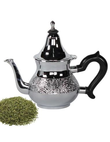 Orientalische Teekanne Chrom CHAAYA 0,8 l