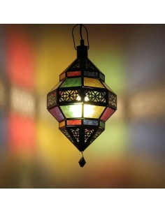 Orientalische Lampe Trob bunt