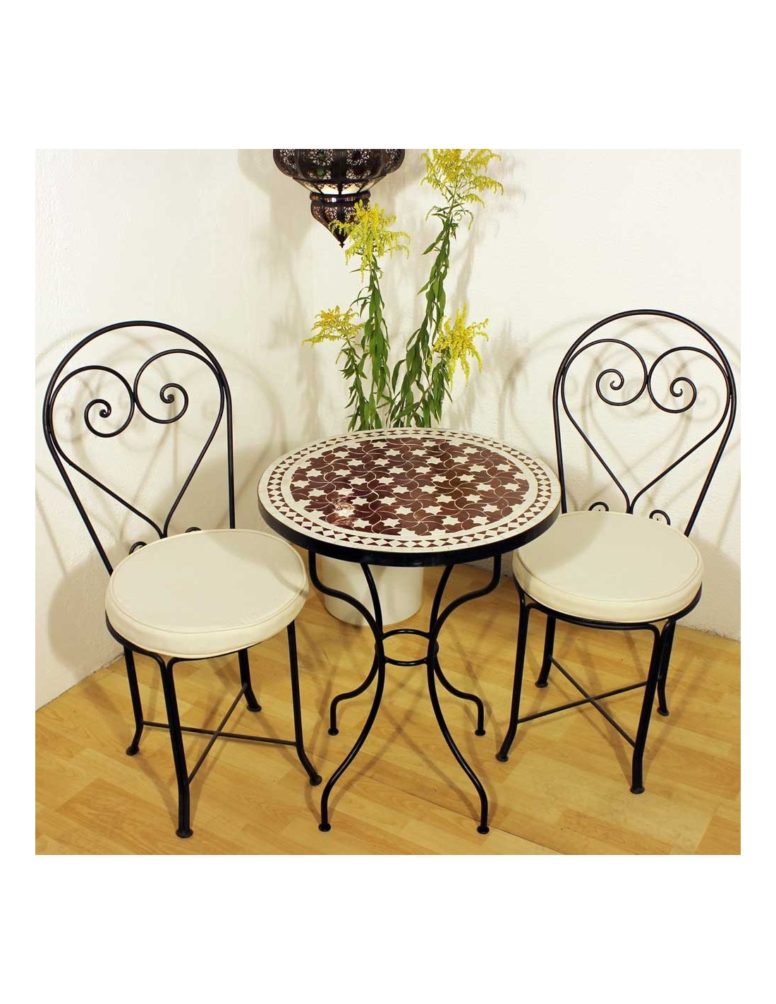 mosaiktisch maar rot 60cm rund bei albena marokko galerie. Black Bedroom Furniture Sets. Home Design Ideas