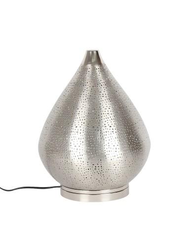 Tischlampe Fare silber37cm