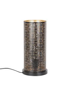 Orientalische Stehlampe Laika schwarz 30cm