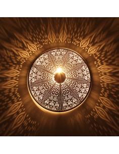 Orientlampe Wandlampe Rina schwarz