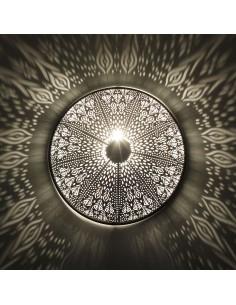 Orientlampe Wandlampe Rina silber