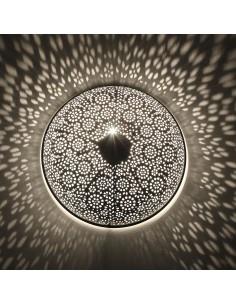 Orientlampe Wandlampe Tami silber 2.Wahl